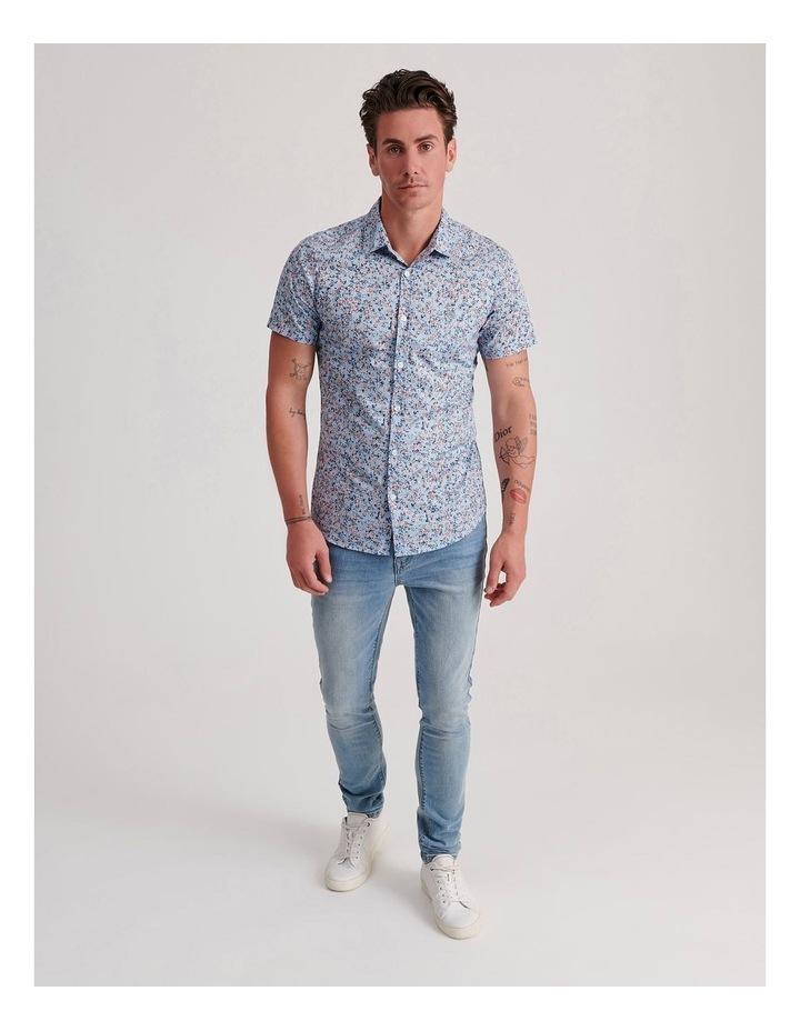 Blowout Geo Print Short Sleeve Shirt image 2