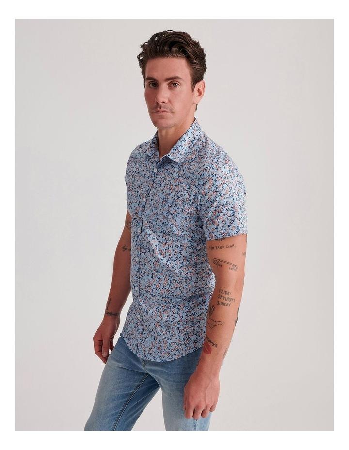 Blowout Geo Print Short Sleeve Shirt image 3