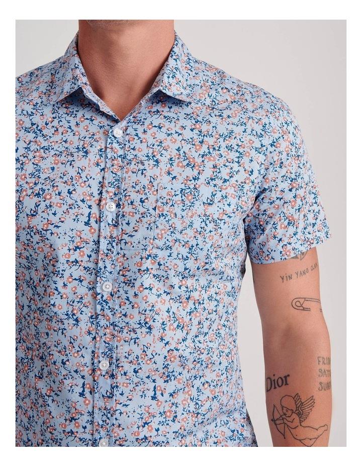Blowout Geo Print Short Sleeve Shirt image 5