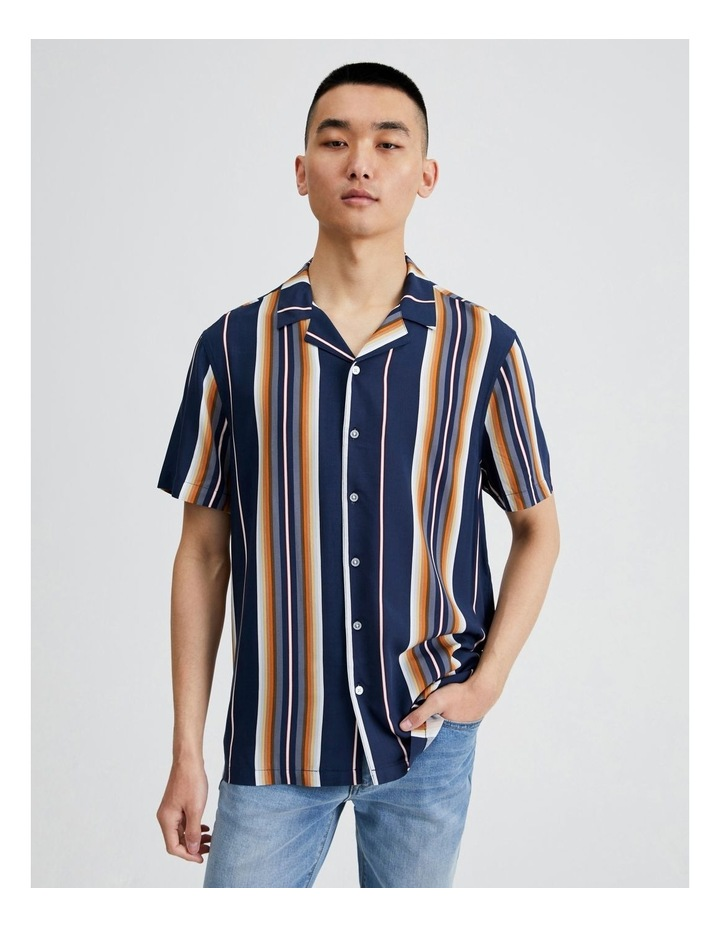 Metalmark Stripe Short Sleeve Shirt image 1