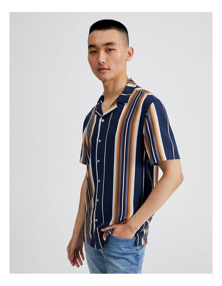 Metalmark Stripe Short Sleeve Shirt image 2