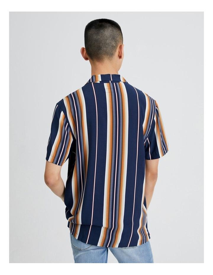 Metalmark Stripe Short Sleeve Shirt image 3