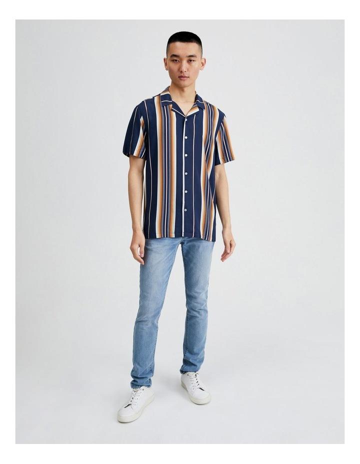 Metalmark Stripe Short Sleeve Shirt image 4