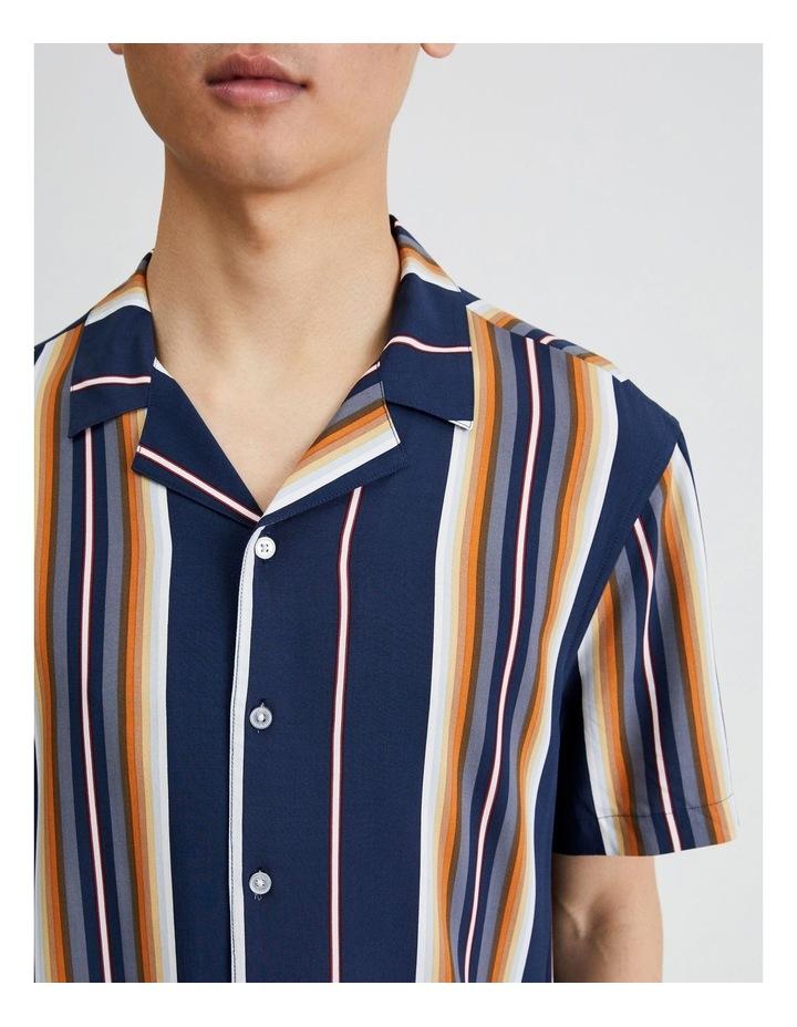 Metalmark Stripe Short Sleeve Shirt image 5