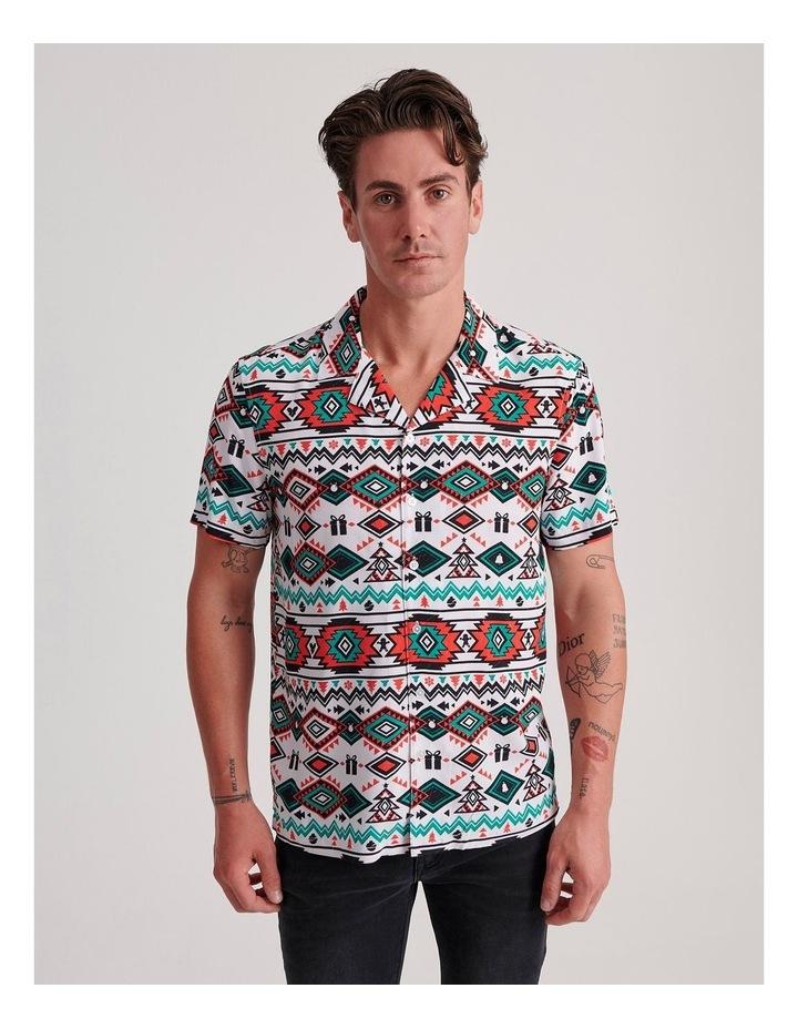 Xmas Wrapping Short Sleeve Shirt image 1