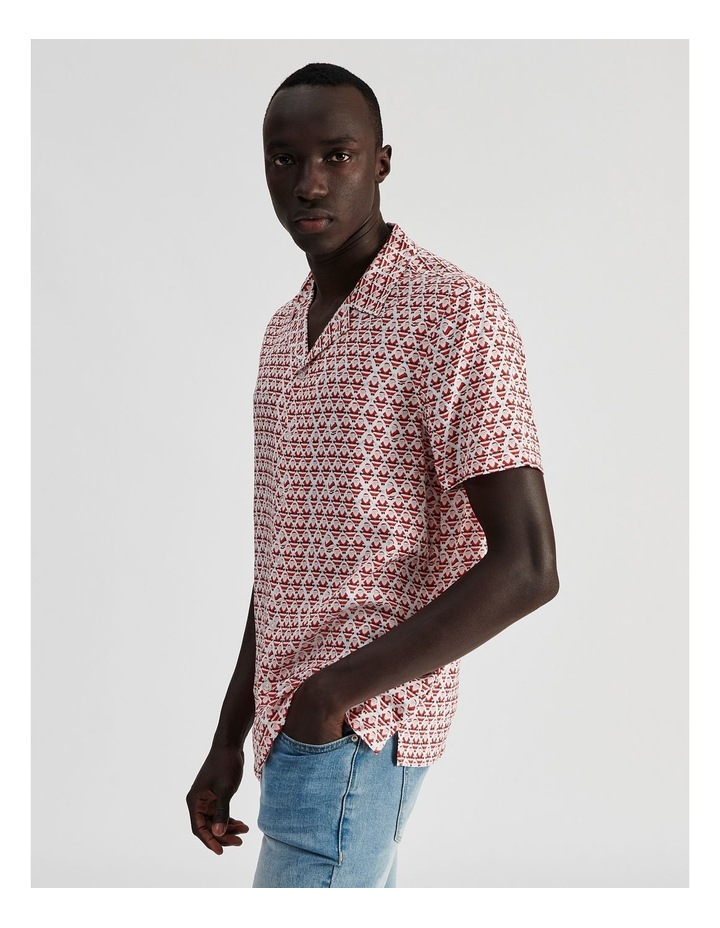 Cool Yule All Over Print Short Sleeved Rayon Shirt image 3