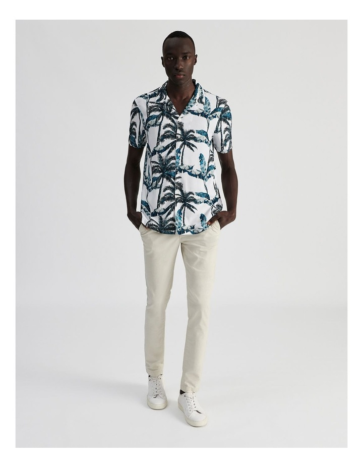 Fern Gully Print Short Sleeve Rayon Shirt image 2