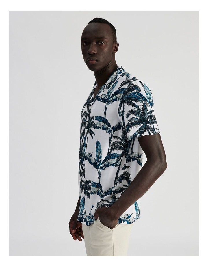 Fern Gully Print Short Sleeve Rayon Shirt image 3