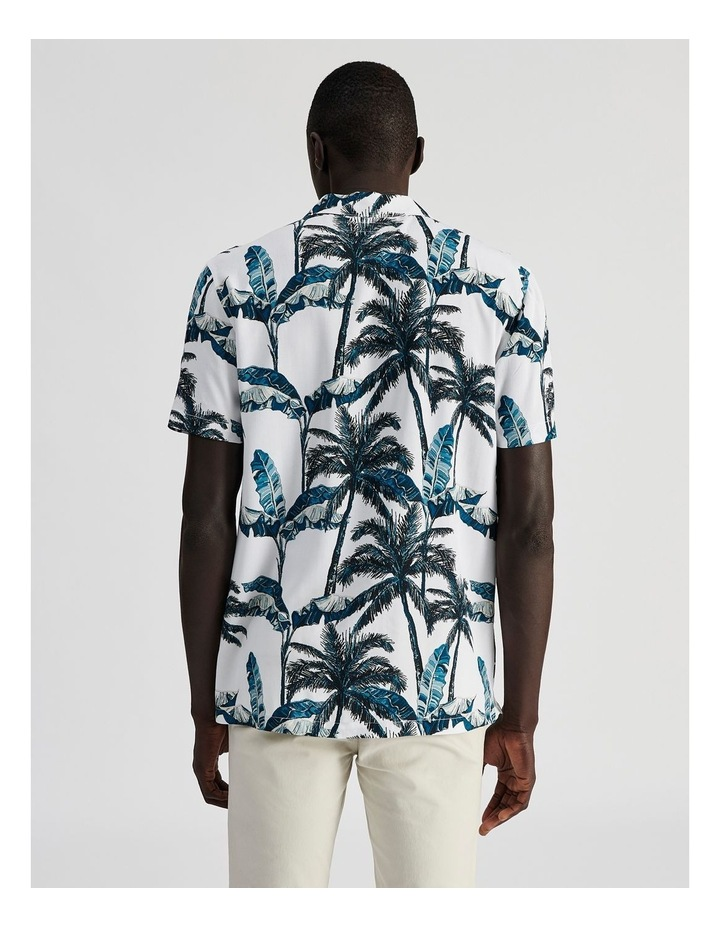 Fern Gully Print Short Sleeve Rayon Shirt image 4