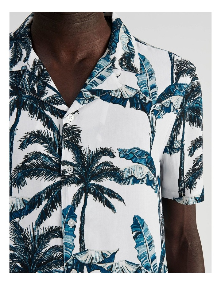 Fern Gully Print Short Sleeve Rayon Shirt image 5