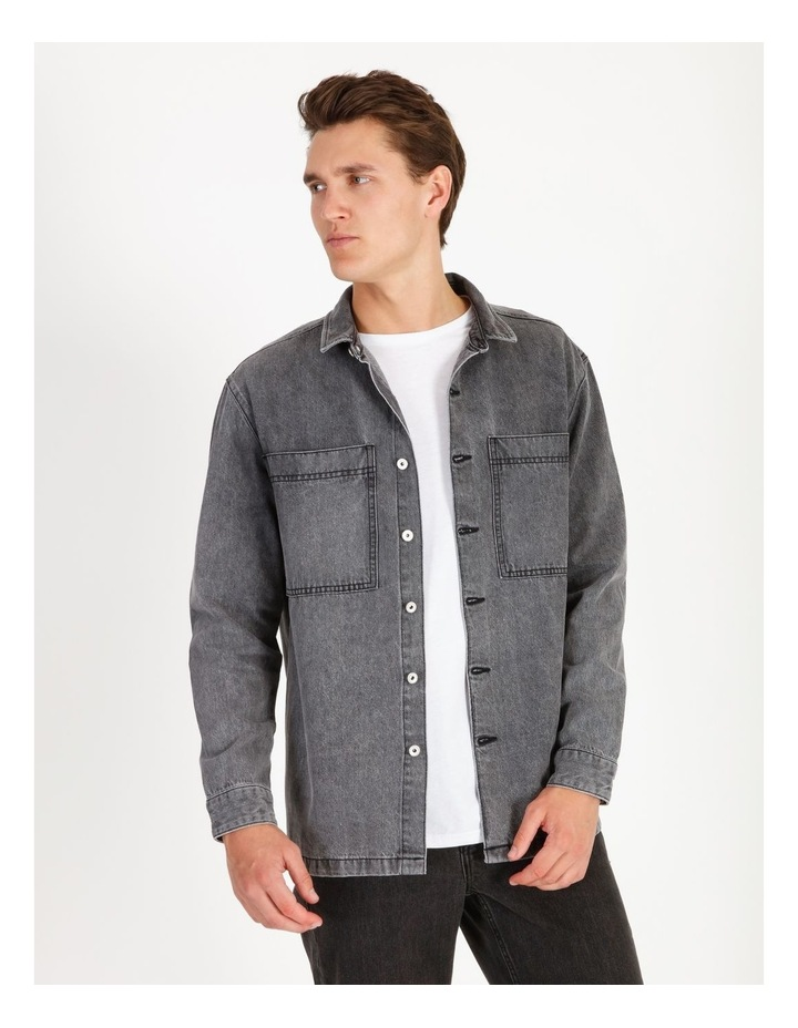 Freedom Denim Long Sleeve Overshirt image 1