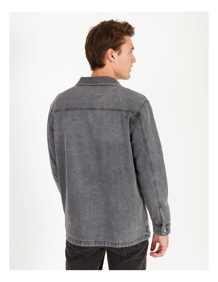 Freedom Denim Long Sleeve Overshirt image 3