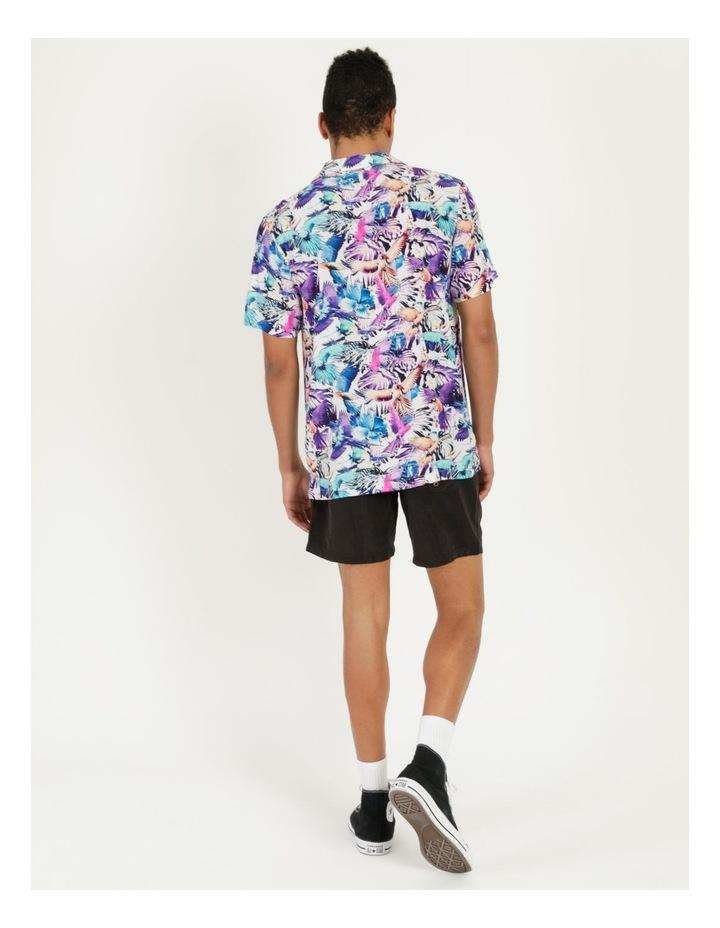 Pastel Parrots All Over Print Short Sleeves Rayon Shirt image 6