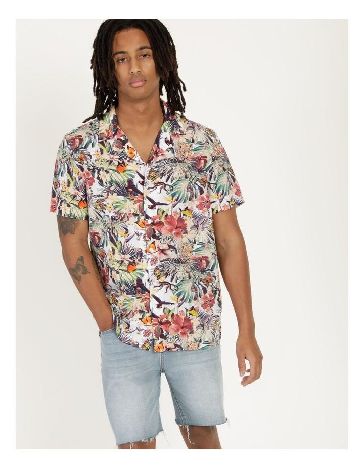 Jungle Juice All Over Print Short Sleeve Rayon Shirt image 1