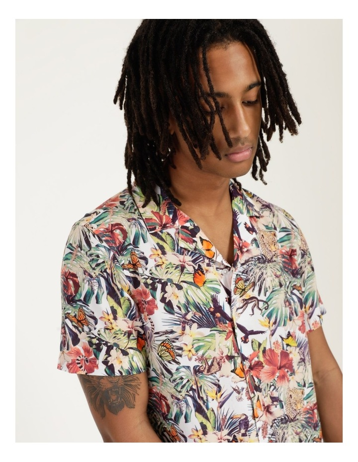 Jungle Juice All Over Print Short Sleeve Rayon Shirt image 2
