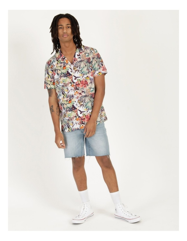Jungle Juice All Over Print Short Sleeve Rayon Shirt image 4