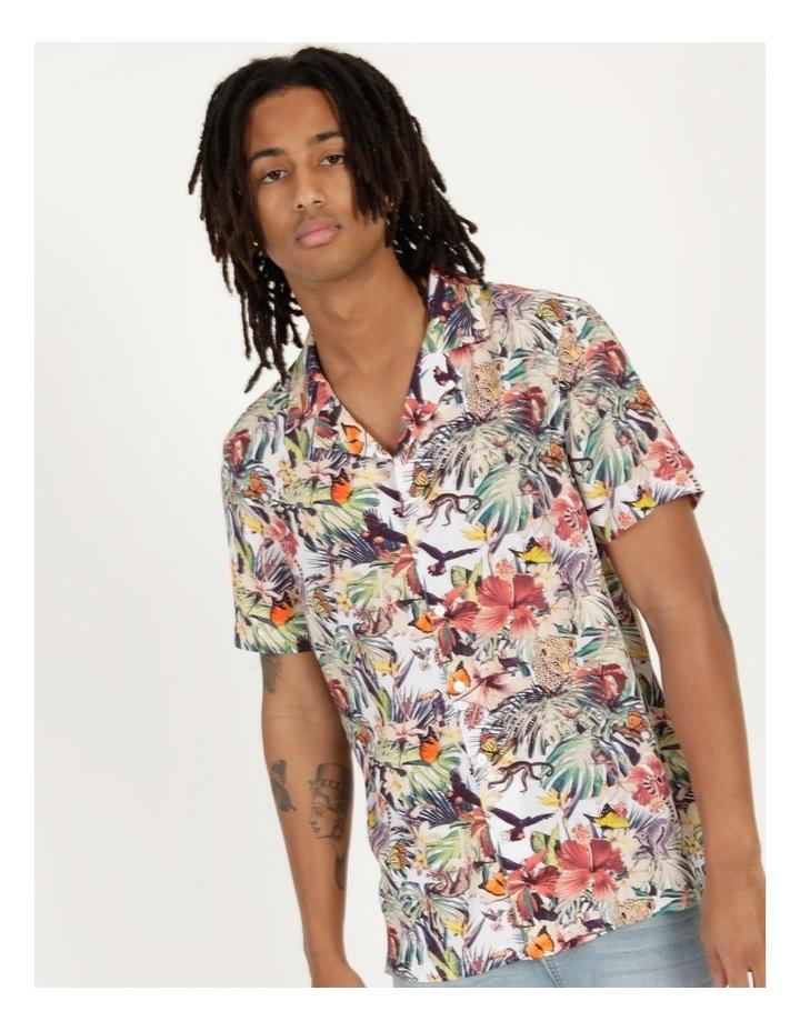Jungle Juice All Over Print Short Sleeve Rayon Shirt image 5