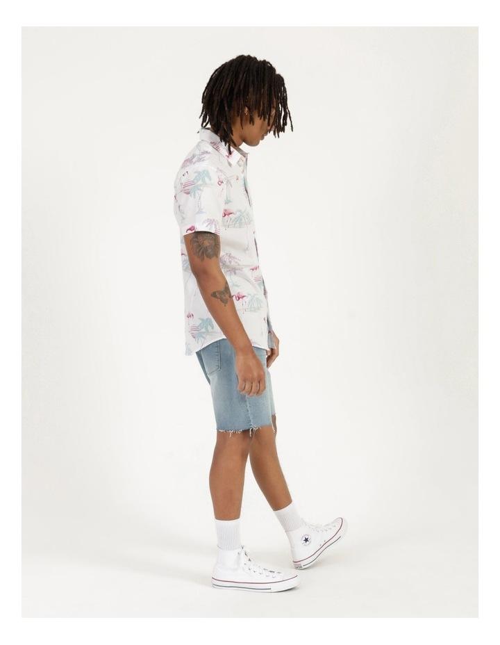 Flamingo Oasis All Over Print Short Sleeve Shirt image 6