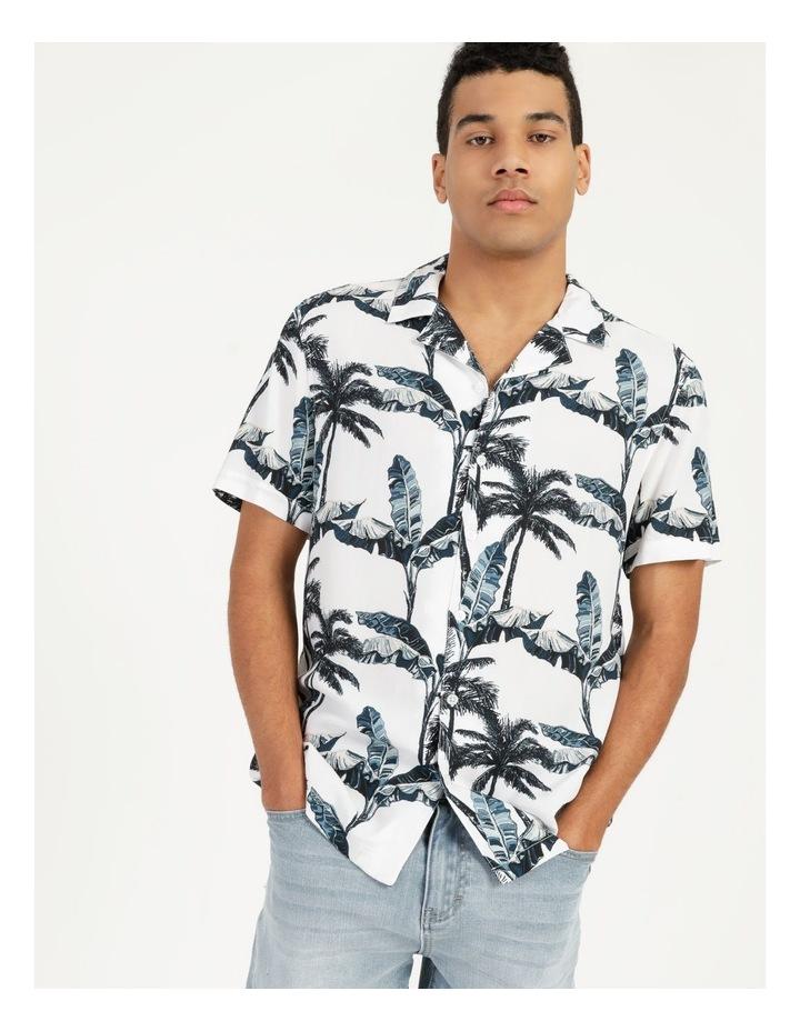 Ferny Creek All Over Print Short Sleeves Rayon Shirt image 1