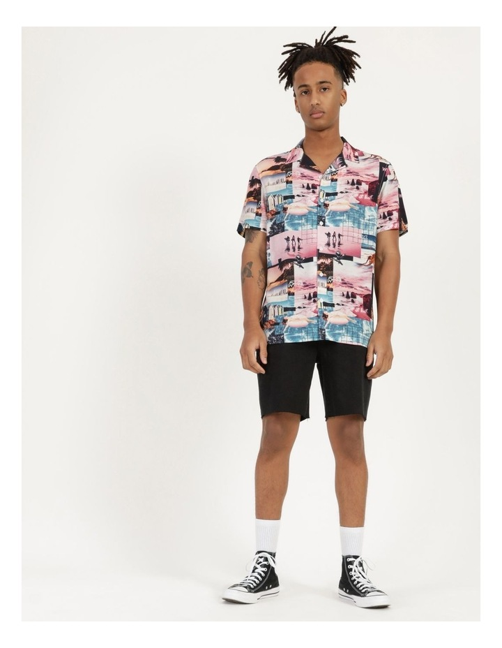 Mirage All Over Print Short Sleeve Rayon Shirt image 2
