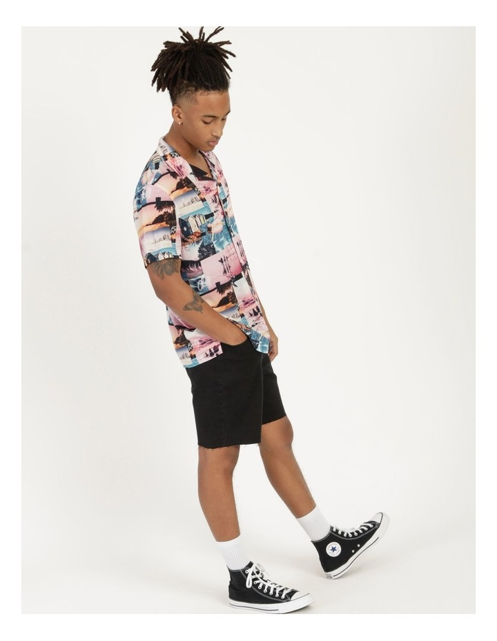 Mirage All Over Print Short Sleeve Rayon Shirt image 4
