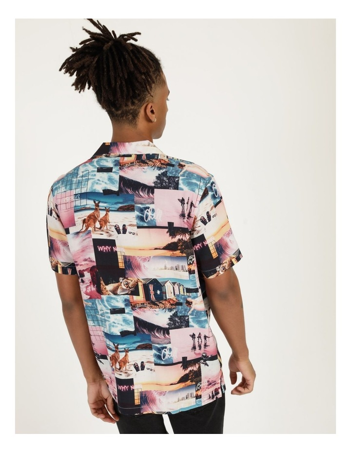 Mirage All Over Print Short Sleeve Rayon Shirt image 5