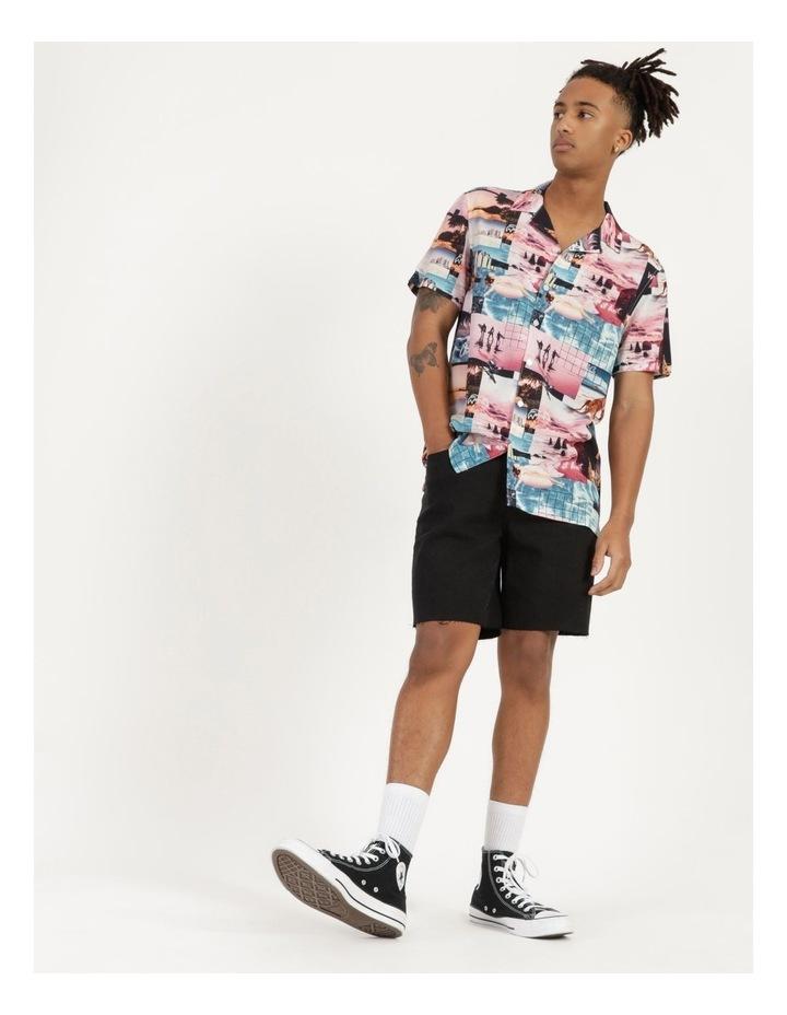 Mirage All Over Print Short Sleeve Rayon Shirt image 6