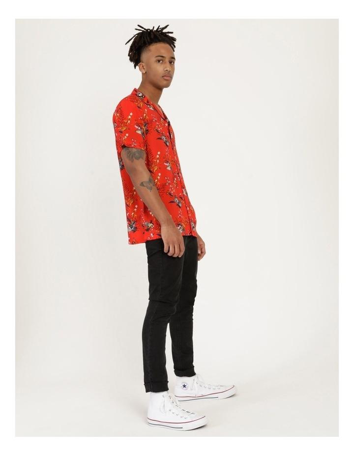 Wagtail All Over Print Short Sleeve Rayon Shirt image 2