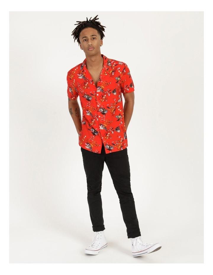 Wagtail All Over Print Short Sleeve Rayon Shirt image 4