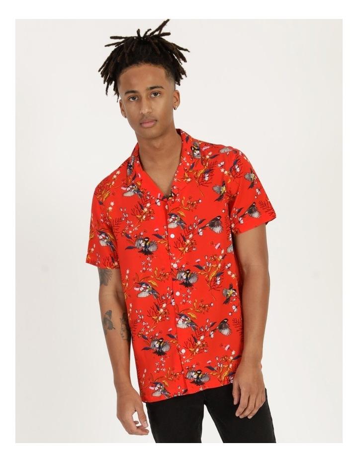 Wagtail All Over Print Short Sleeve Rayon Shirt image 5