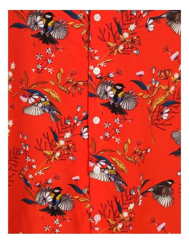 Wagtail All Over Print Short Sleeve Rayon Shirt image 7