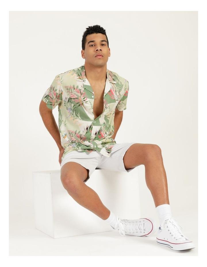 Chameleon All Over Print Short Sleeve Rayon Shirt image 1