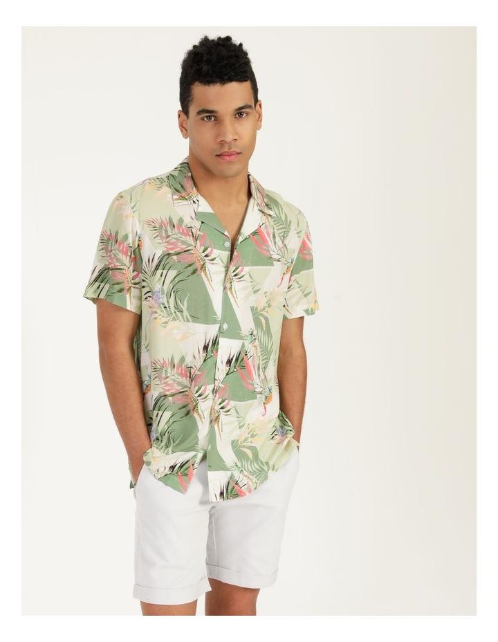 Chameleon All Over Print Short Sleeve Rayon Shirt image 2