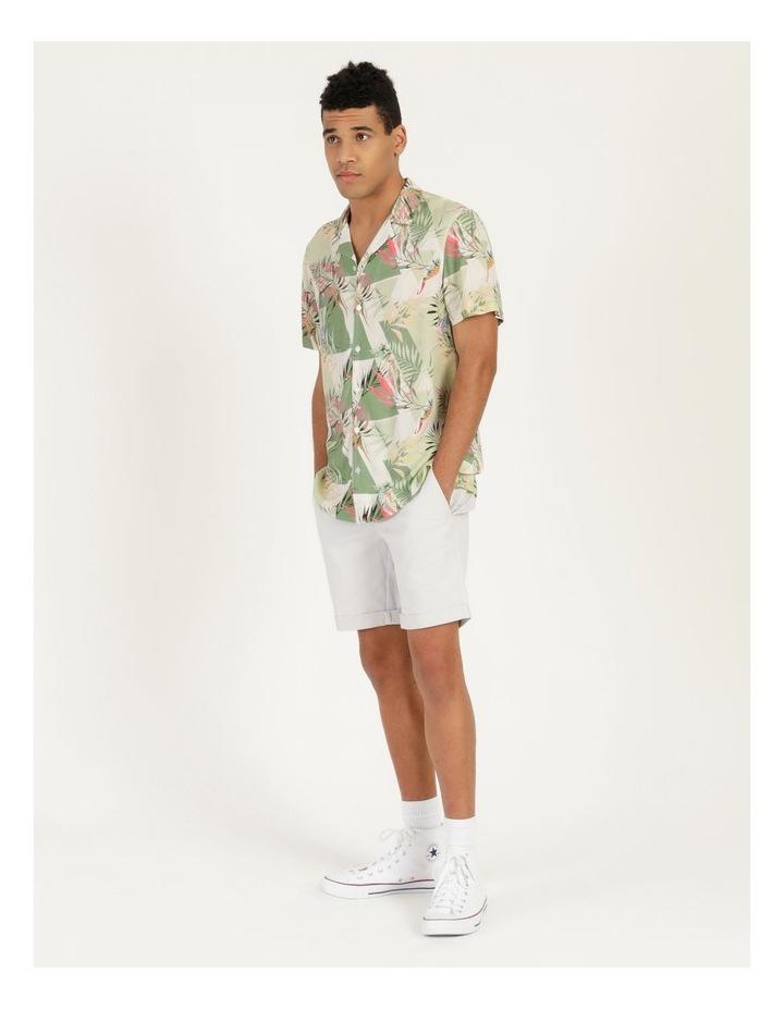 Chameleon All Over Print Short Sleeve Rayon Shirt image 5