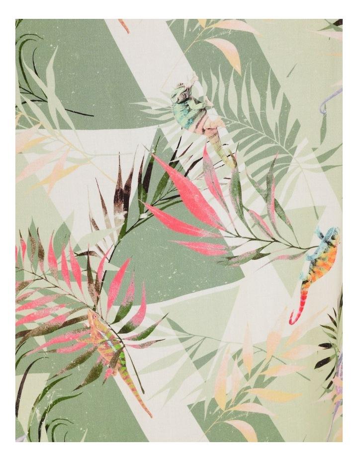 Chameleon All Over Print Short Sleeve Rayon Shirt image 7