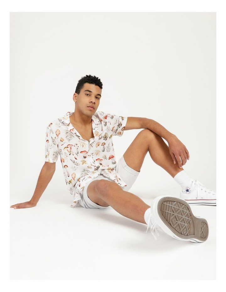 Magic Mushroom All Over Print Short Sleeve Rayon Shirt image 1