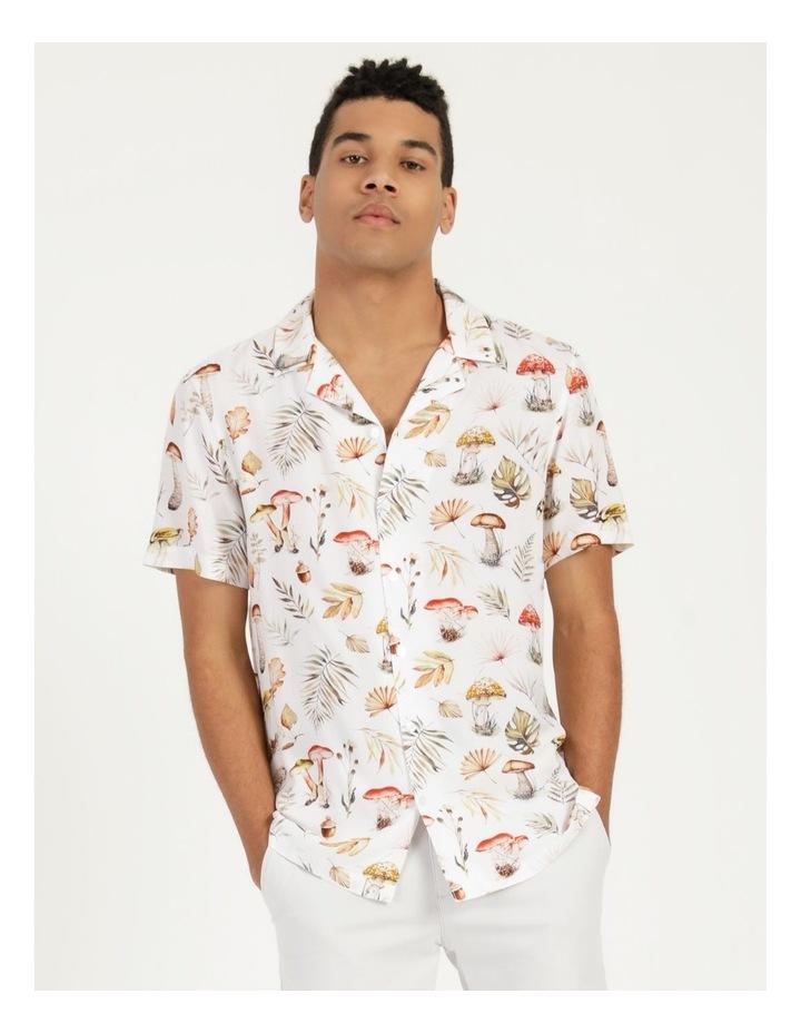 Magic Mushroom All Over Print Short Sleeve Rayon Shirt image 2