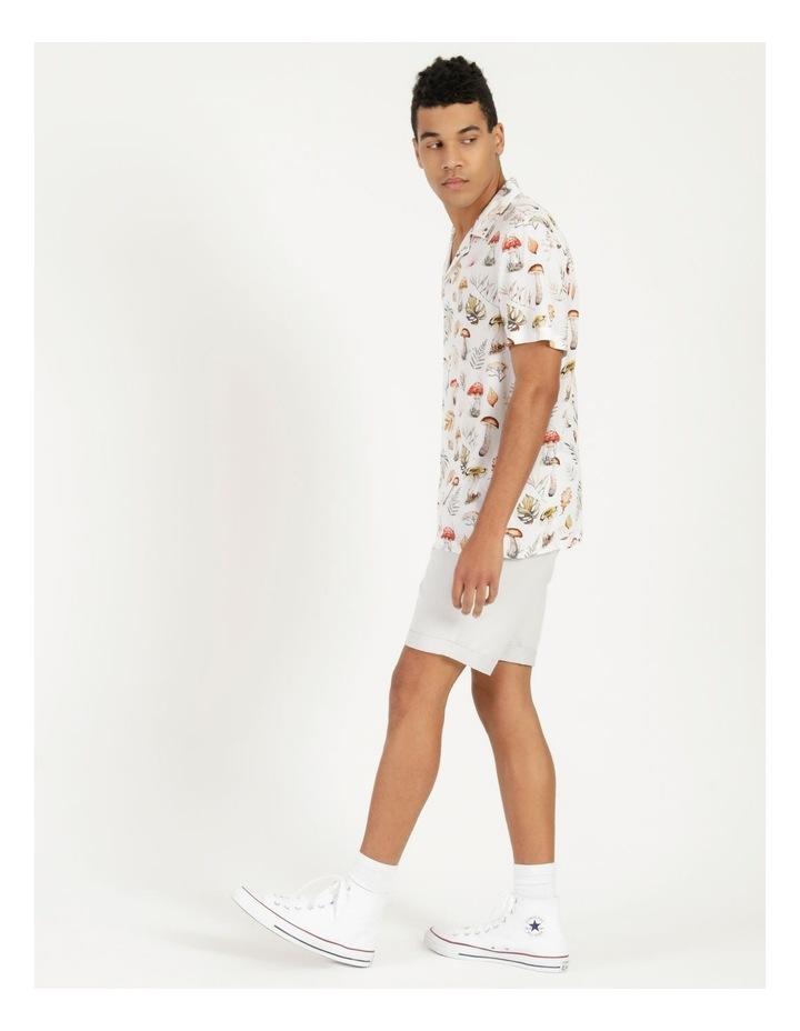 Magic Mushroom All Over Print Short Sleeve Rayon Shirt image 3