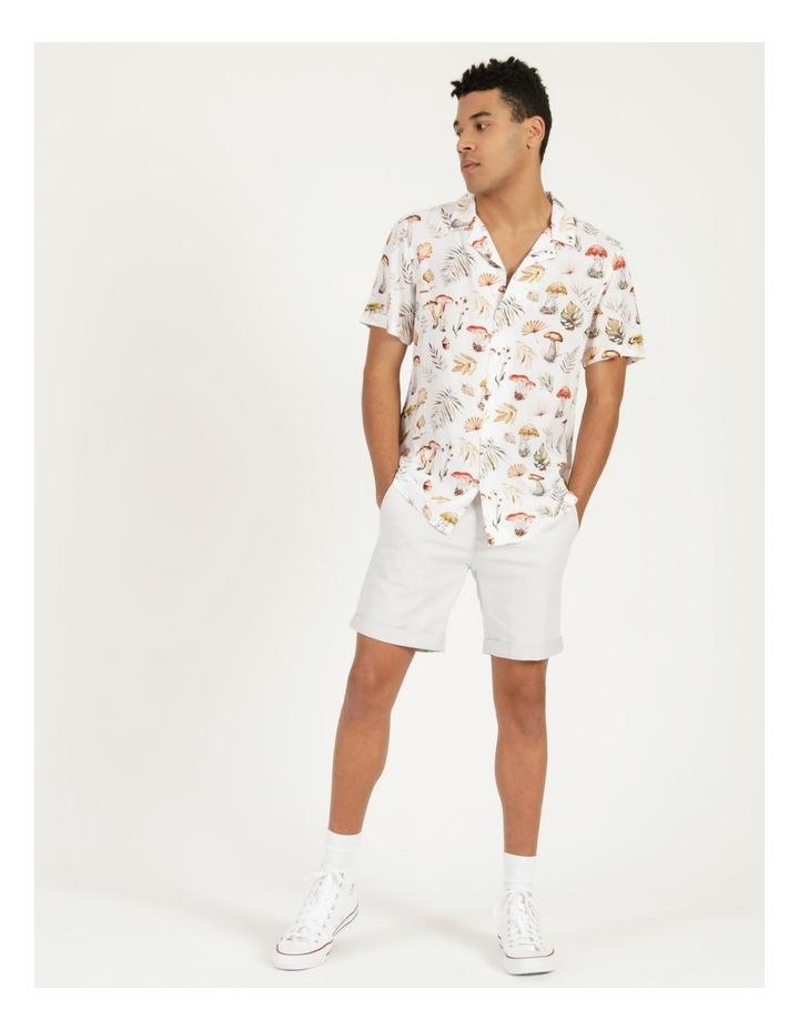 Magic Mushroom All Over Print Short Sleeve Rayon Shirt image 4