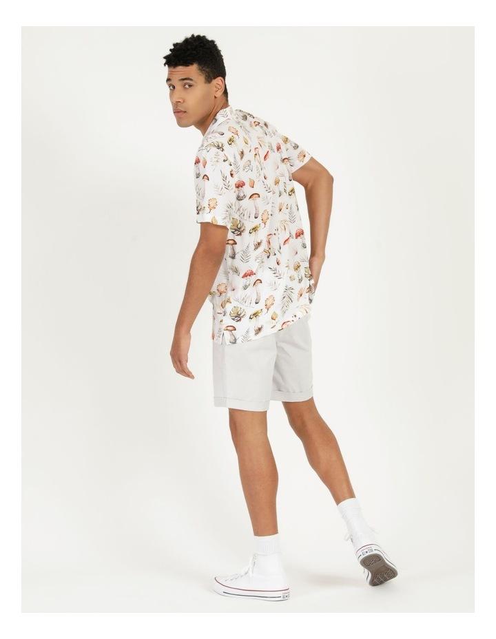 Magic Mushroom All Over Print Short Sleeve Rayon Shirt image 5