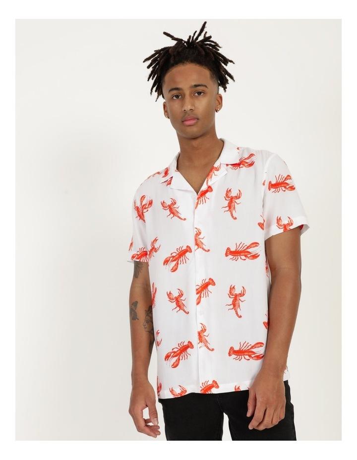 The Kramer All Over Print Short Sleeved Rayon Shirt image 1