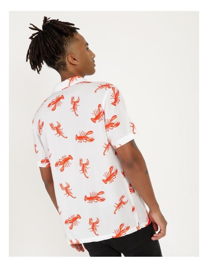 The Kramer All Over Print Short Sleeved Rayon Shirt image 3