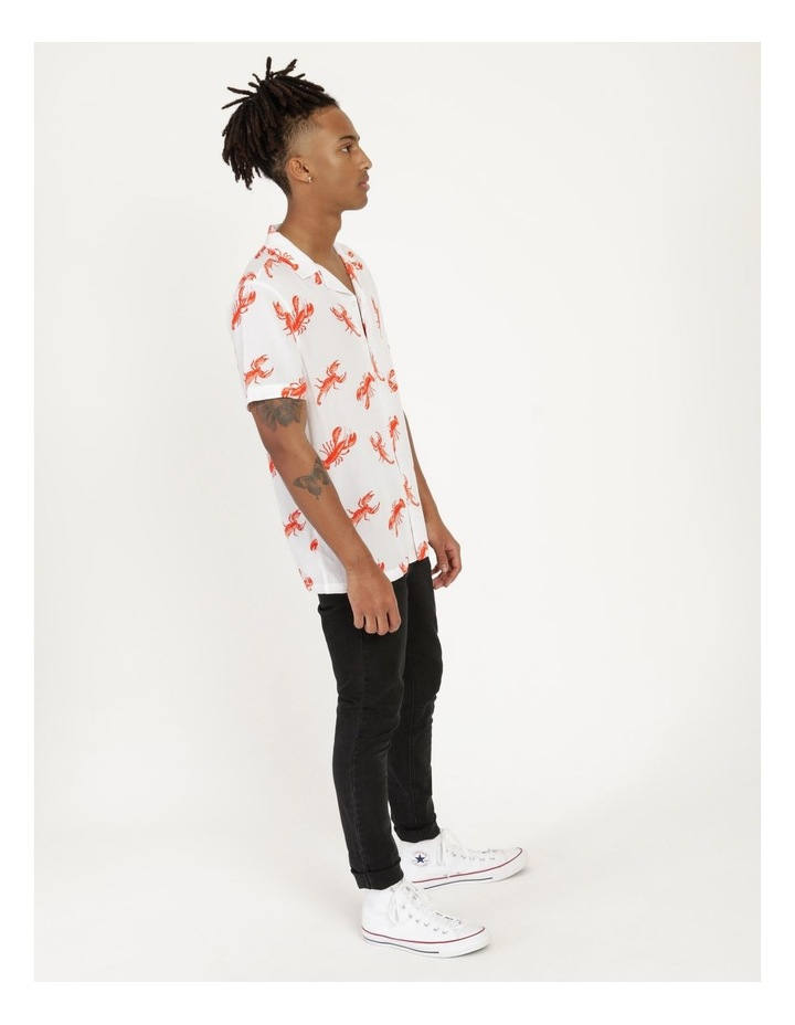 The Kramer All Over Print Short Sleeved Rayon Shirt image 4