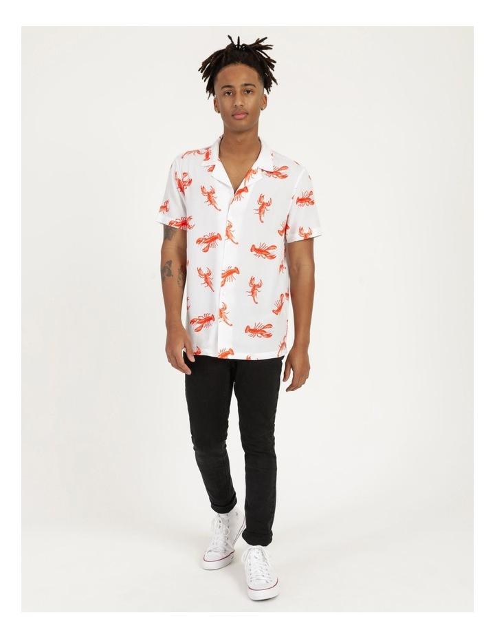 The Kramer All Over Print Short Sleeved Rayon Shirt image 6