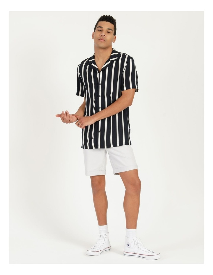 Straya Stripe Short Sleeve Rayon Shirt image 3