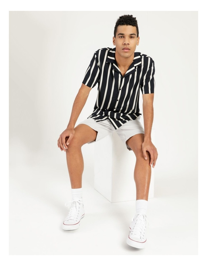Straya Stripe Short Sleeve Rayon Shirt image 4