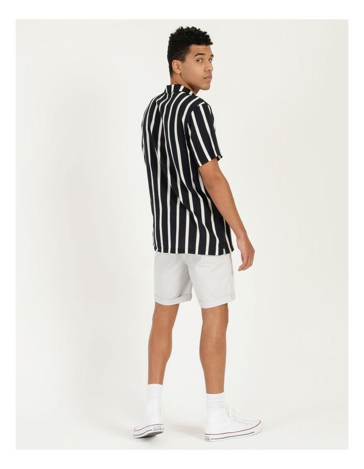 Straya Stripe Short Sleeve Rayon Shirt image 5
