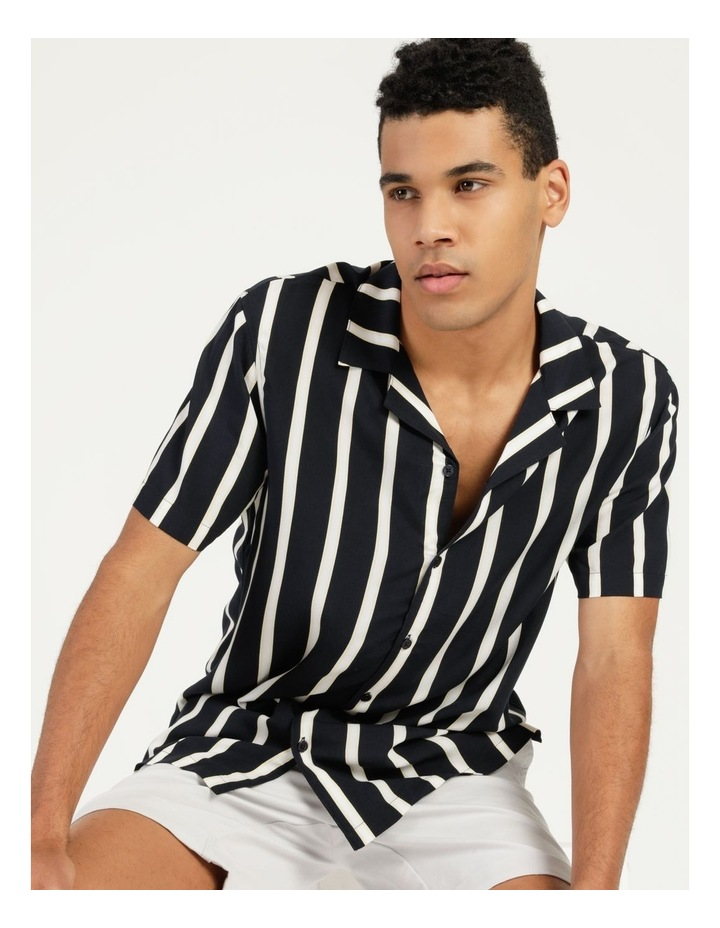 Straya Stripe Short Sleeve Rayon Shirt image 6