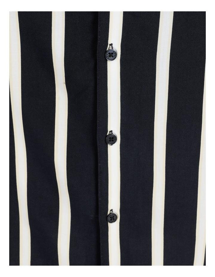 Straya Stripe Short Sleeve Rayon Shirt image 7