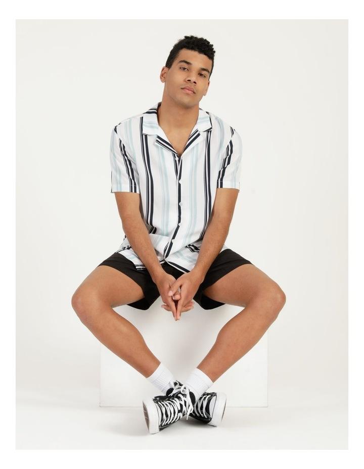 Sassafras Stripe Short Sleeve Rayon Shirt image 1